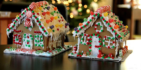 Gingerbread House Contest - Press tab then enter to visit page