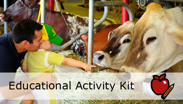 Meet the Farm Animals Educational Activity Kit