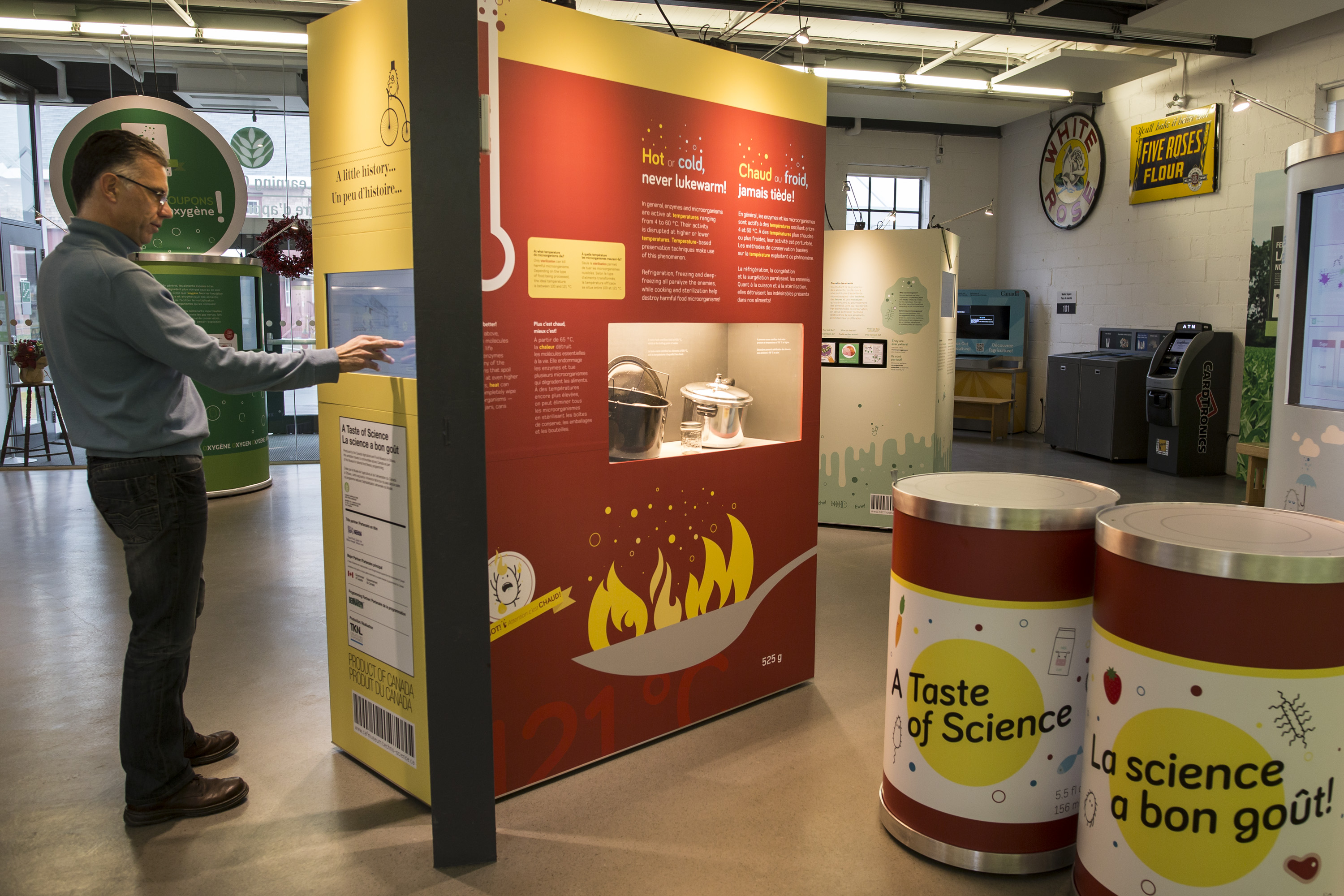 whats exhibition taste science travelling